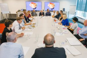 METS Ignited, Minister Andrews roundtable